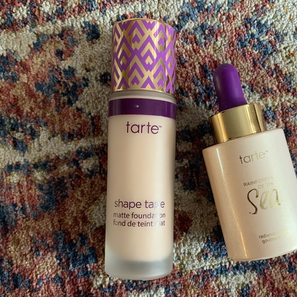 tarte Other - Tarte shape tape matte fair light neutral & drops